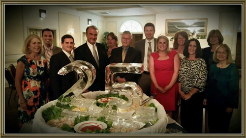 Andrews and Beard attorneys and employees celebrate the Firm's 25th anniversary.
